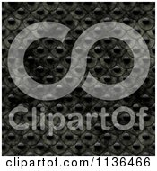 Clipart Of A Seamless Studded Skin Scales Texture Background Pattern Version 10 Royalty Free CGI Illustration