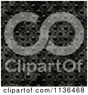 Clipart Of A Seamless Studded Skin Scales Texture Background Pattern Version 12 Royalty Free CGI Illustration by Ralf61