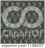Clipart Of A Seamless Scales Texture Background Pattern Version 2 Royalty Free CGI Illustration