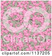 Clipart Of A Seamless Pink Skin Texture Background Pattern Version 8 Royalty Free CGI Illustration
