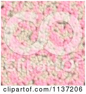 Clipart Of A Seamless Pink Skin Texture Background Pattern Version 9 Royalty Free CGI Illustration
