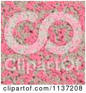 Clipart Of A Seamless Pink Skin Texture Background Pattern Version 11 Royalty Free CGI Illustration