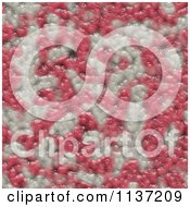 Clipart Of A Seamless Pink Skin Texture Background Pattern Version 12 Royalty Free CGI Illustration