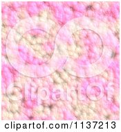 Clipart Of A Seamless Pink Skin Texture Background Pattern Version 16 Royalty Free CGI Illustration