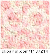 Clipart Of A Seamless Pink Skin Texture Background Pattern Version 17 Royalty Free CGI Illustration