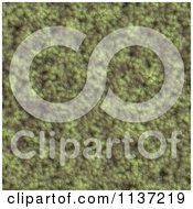 Clipart Of A Seamless Green Skin Texture Background Pattern Version 2 Royalty Free CGI Illustration