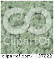Clipart Of A Seamless Green Skin Texture Background Pattern Version 5 Royalty Free CGI Illustration
