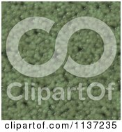 Clipart Of A Seamless Green Skin Texture Background Pattern Version 18 Royalty Free CGI Illustration