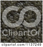Clipart Of A Seamless Green Skin Texture Background Pattern Version 32 Royalty Free CGI Illustration