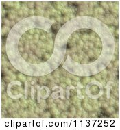 Clipart Of A Seamless Green Skin Texture Background Pattern Version 35 Royalty Free CGI Illustration