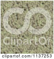Clipart Of A Seamless Green Skin Texture Background Pattern Version 36 Royalty Free CGI Illustration