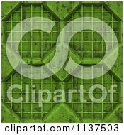 Clipart Of A Seamless 3d Green Metal Door Texture Background Pattern Version 2 Royalty Free CGI Illustration by Ralf61