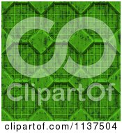 Clipart Of A Seamless 3d Green Metal Door Texture Background Pattern Version 3 Royalty Free CGI Illustration by Ralf61