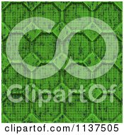 Clipart Of A Seamless 3d Green Metal Door Texture Background Pattern Version 4 Royalty Free CGI Illustration by Ralf61