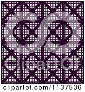 Clipart Of A Seamless 3d Purple Metal Vent Texture Background Pattern Version 3 Royalty Free CGI Illustration