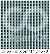 Clipart Of A Seamless Metal Weave Vent Texture Background Pattern Version 4 Royalty Free CGI Illustration