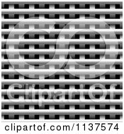 Clipart Of A Seamless Metal Weave Vent Texture Background Pattern Version 5 Royalty Free CGI Illustration