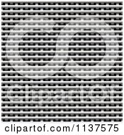Clipart Of A Seamless Metal Weave Vent Texture Background Pattern Version 6 Royalty Free CGI Illustration