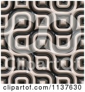 Clipart Of A Seamless 3d Truchet Tile Texture Background Pattern Version 2 Royalty Free CGI Illustration