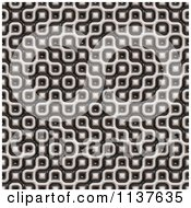 Clipart Of A Seamless 3d Truchet Tile Texture Background Pattern Version 7 Royalty Free CGI Illustration