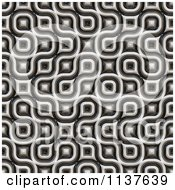 Clipart Of A Seamless 3d Truchet Tile Texture Background Pattern Version 11 Royalty Free CGI Illustration
