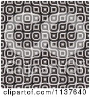 Clipart Of A Seamless 3d Truchet Tile Texture Background Pattern Version 12 Royalty Free CGI Illustration