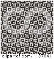 Clipart Of A Seamless 3d Truchet Tile Texture Background Pattern Version 13 Royalty Free CGI Illustration