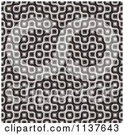 Clipart Of A Seamless 3d Truchet Tile Texture Background Pattern Version 15 Royalty Free CGI Illustration