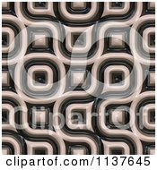 Clipart Of A Seamless 3d Truchet Tile Texture Background Pattern Version 17 Royalty Free CGI Illustration