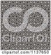 Clipart Of A Seamless 3d Truchet Tile Texture Background Pattern Version 22 Royalty Free CGI Illustration