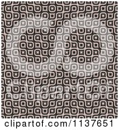 Clipart Of A Seamless 3d Truchet Tile Texture Background Pattern Version 23 Royalty Free CGI Illustration