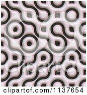 Seamless 3d Truchet Tile Texture Background Pattern Version 26