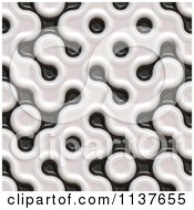 Seamless 3d Truchet Tile Texture Background Pattern Version 27