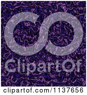 Seamless Purple Tangle Texture Background Pattern