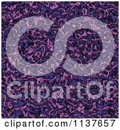 Seamless Purple Tangle Texture Background Pattern Version 2