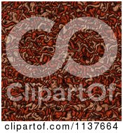 Seamless Red Tangle Texture Background Pattern Version 6