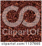 Seamless Red Tangle Texture Background Pattern Version 7