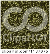 Clipart Of A Seamless Green Tangle Texture Background Pattern Version 10 Royalty Free CGI Illustration