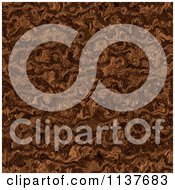Seamless Brown Tangle Texture Background Pattern Version 2