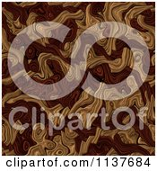 Seamless Brown Tangle Texture Background Pattern Version 3