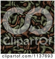 Seamless Tangle Texture Background Pattern Version 2
