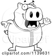 pigs in pajamas coloring pages - photo#3