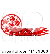 Clipart Of A Pizza Pie Logo 3 Royalty Free Vector Illustration