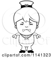 royalty free rf sailor boy clipart illustrations vector graphics 1 Angry Cartoon cartoon clipart of a black and white angry sailor boy vector outlined coloring page