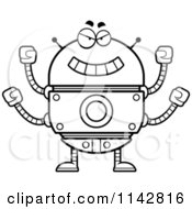 Transparent Evil Robot Clipart , Free Transparent Clipart - ClipartKey