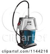 Retro Gas Station Pump 3