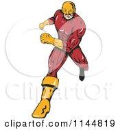 Male Superhero Running 2