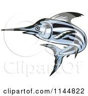 Blue Swordfish Leaping 2