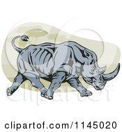 Retro Charging Rhino