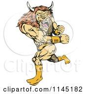 Running Lion Man Villain